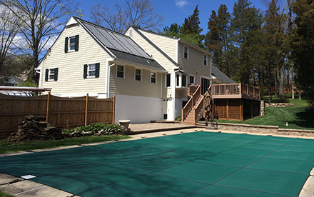 Bedminster, NJ Solar Pool Heating System