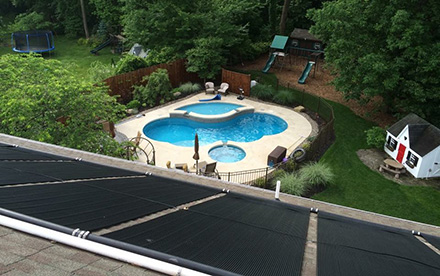North Wales, PA Solar Pool Heating System