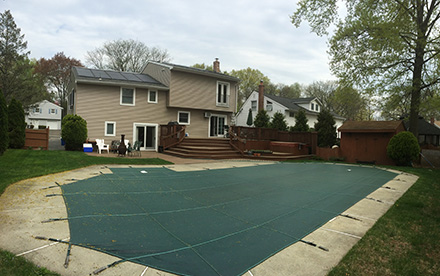 Verona, NJ Solar Pool Heating System